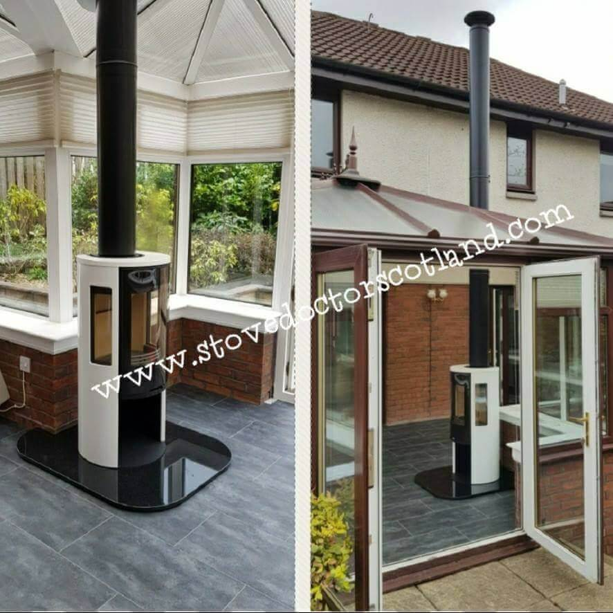 Conservatory stove installations - stove doctor 9