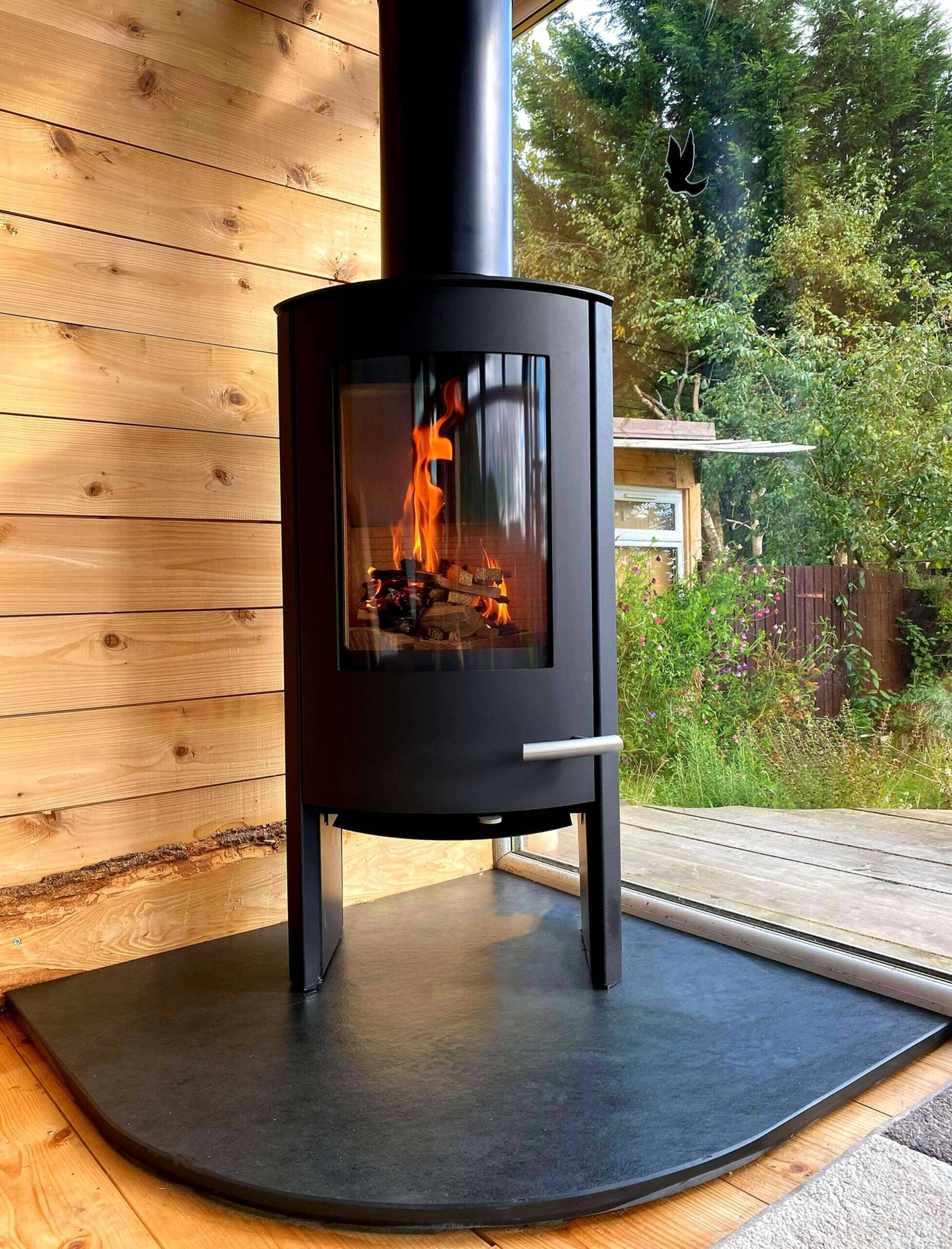 Free Standing Stove Installation - Stove Doctor 1