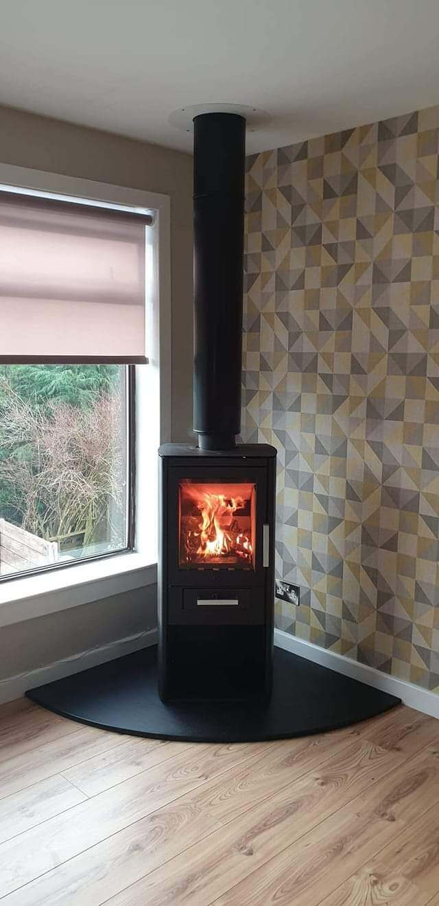 Free standing stove by Stove Doctor Scotland