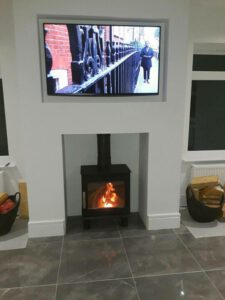 inglenook stove installation - stove doctor
