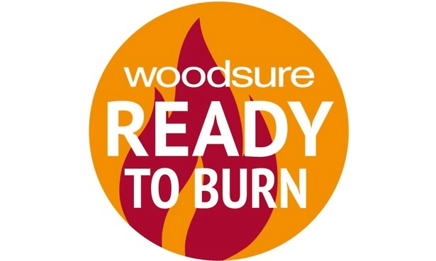 Woodsure ready to burn logo