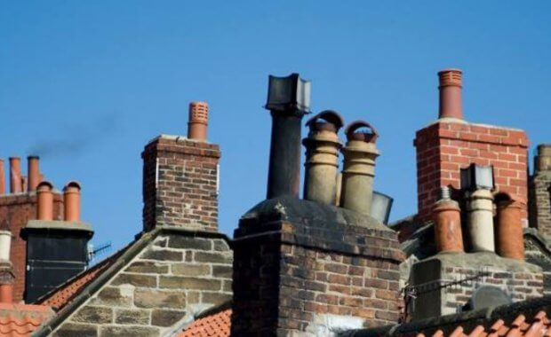 old chimney stacks - clean air strategy image