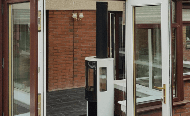 Conservatory Stove Installation – Stove Doctor 634 px